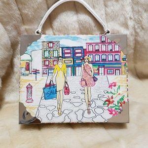 Handbags - Cigar Box Fashion Bag